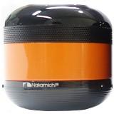 NAKAMICHI Bluetooth Speaker with FM Radio [NBS 2N] - Black/Orange - Speaker Bluetooth & Wireless